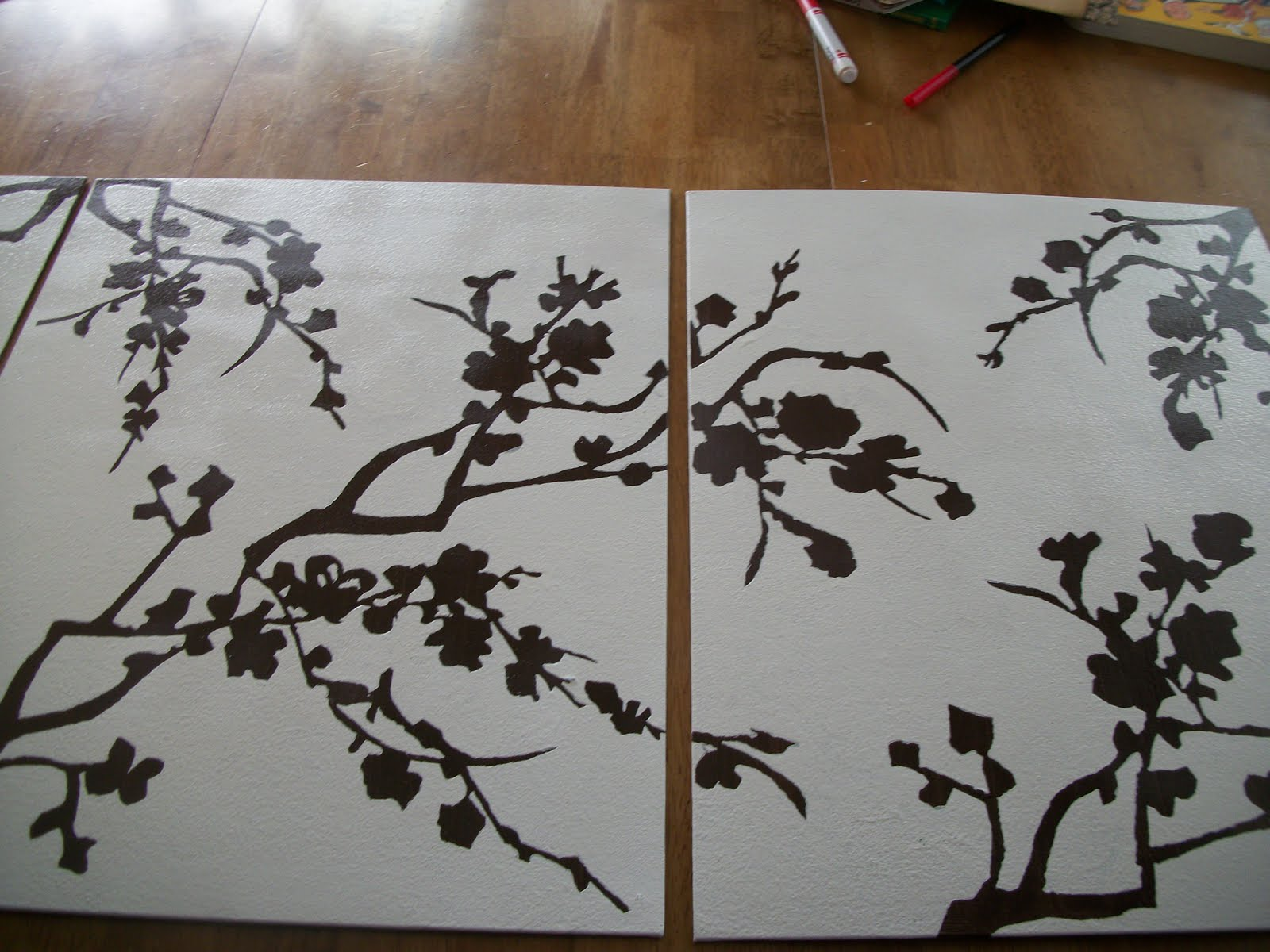 I 39 m a mom not a professional cherry blossoms for Cherry blossom canvas painting