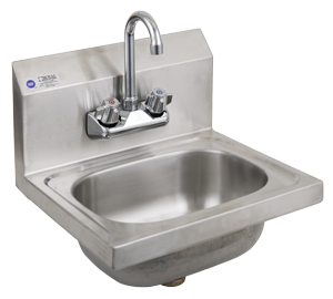 15 stainless steel hand sink with faucet 20 gauge 304 stainless steel ...