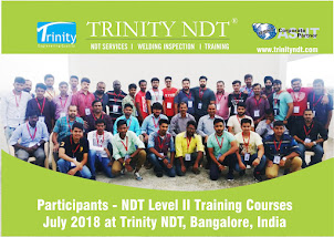 July 2018 Participants at Trinity NDT Training Courses