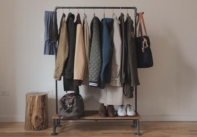 I Am Davidj Diy Clothing Rack