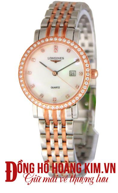 Đồng hồ nữ đính đá Longines đẹp