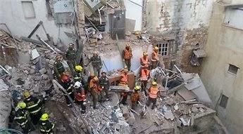 مصرع خمسة فلسطينيين اثر انفجار اسطوانة غاز فى عكا