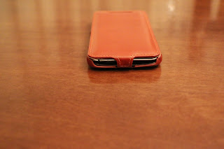 Foto 7 cover HTC One M9 StilGut in pelle cognac