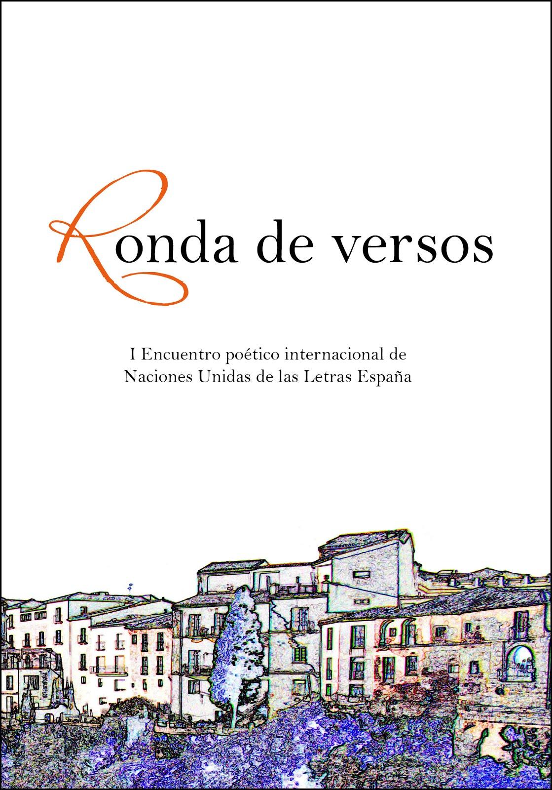Ronda de versos. Antología.VV.AA.