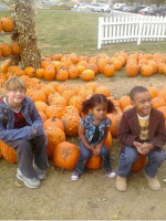 Pumpkin patch day