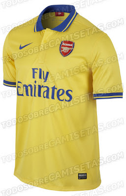 Arsenal away shirt official