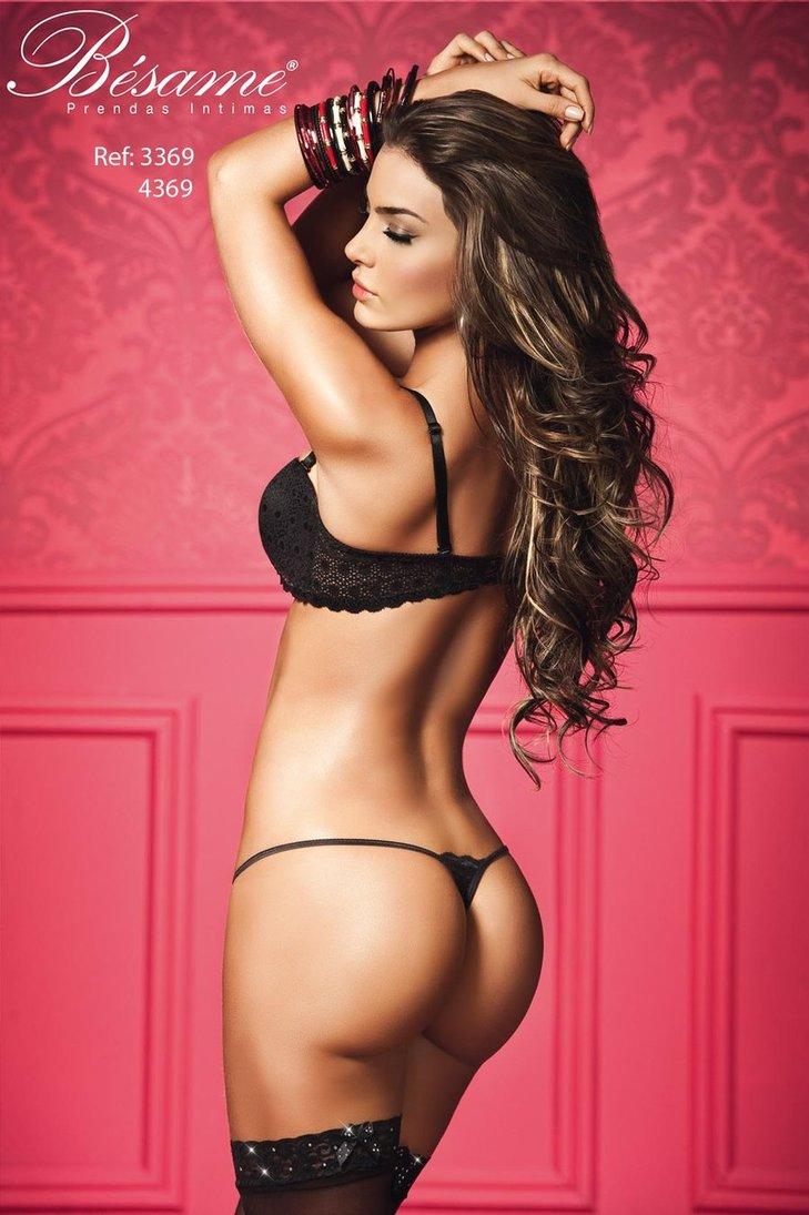 Natalia Velez Sexy in Lingerie