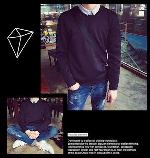 Sweater Korea Buat Cowok Murah Terbaru Berkualitas 2016