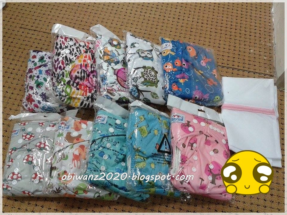 cloth diaper and free laundry bag