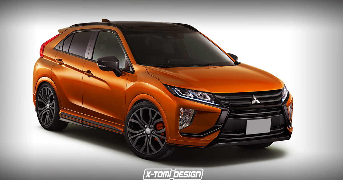 X tomi design mitsubishi eclipse cross ralliart
