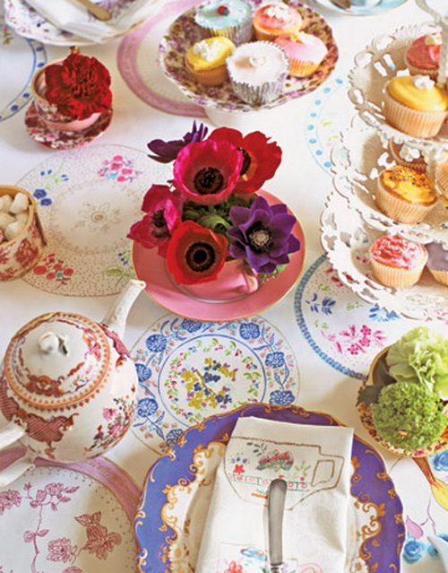 Garden party decorating ideas home furniture for Tea party decoration ideas