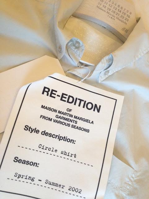 Margiela with H&M Circle Shirt   Get Up Get Dressed   London