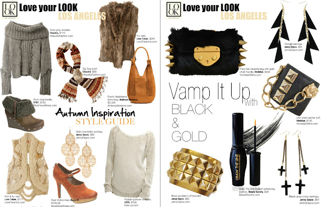 Regard magazine features Jenny Dayco jewelry