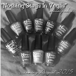Ninja Polish Nothing Stays in Vegas teaser