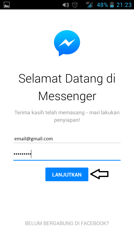 Cara chatting tanpa facebook Messenger
