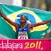 Ex-catador de lixo, Solonei Rocha vence a maratona na despedida do Pan