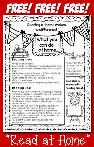 https://www.teacherspayteachers.com/Product/FREE-Read-at-Home-Flyer-1312799