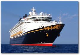 Disney Cruise Line's Disney Magic Heads Toward Galveston, Texas