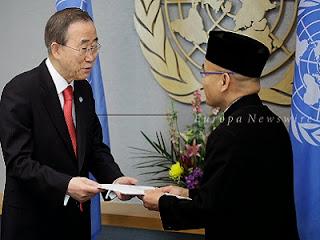 Dr Desra Percaya di PBB (foto Europa Newswire)