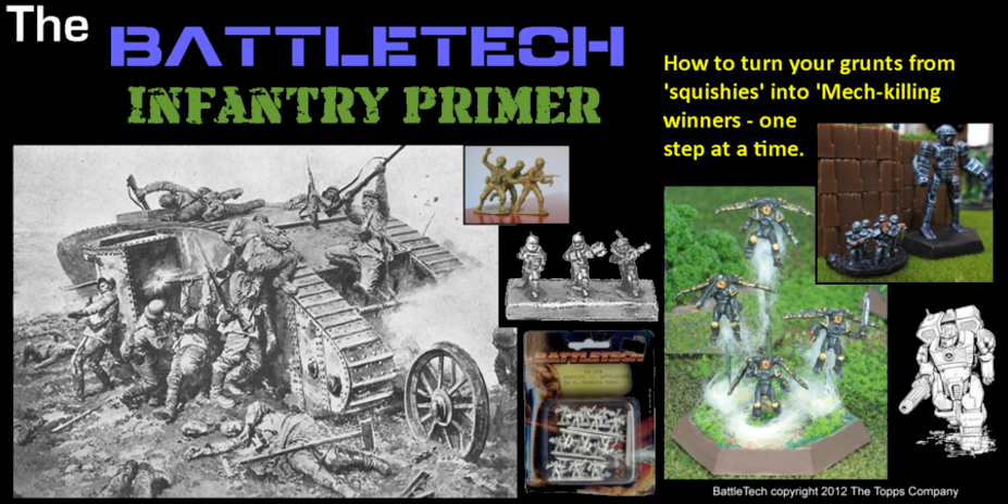 The BattleTech Infantry Primer