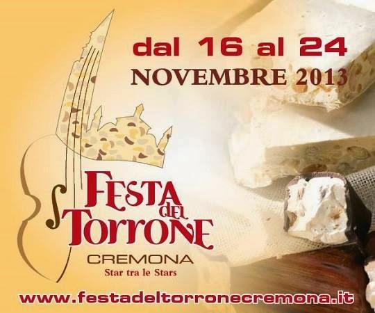 una manifestazione dolce, dolce... la festa del torrone a cremona dal 16 al 24 novembre