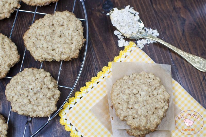 galletas de avena sin huevo cenital