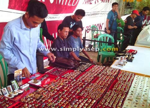Khatulistiwa Gemstone Exhibition 2015