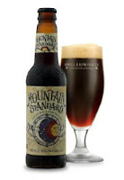 Odell Mountain Standard Double Black IPA glass