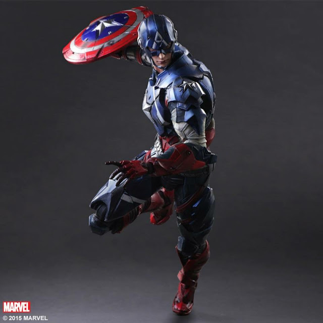 Play Arts Kai Captain America Square Enix