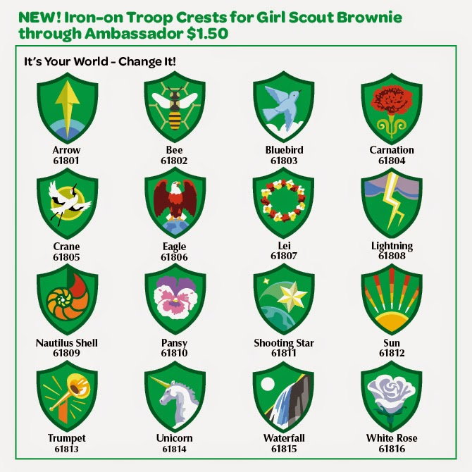 The Girl Scout Life Guide To Troop Crests