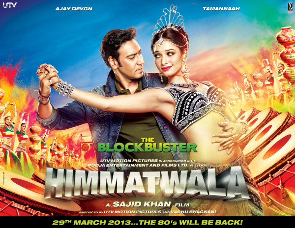 FIRST LOOK: Himmatwala starring Ajay Devgn and Tamannah