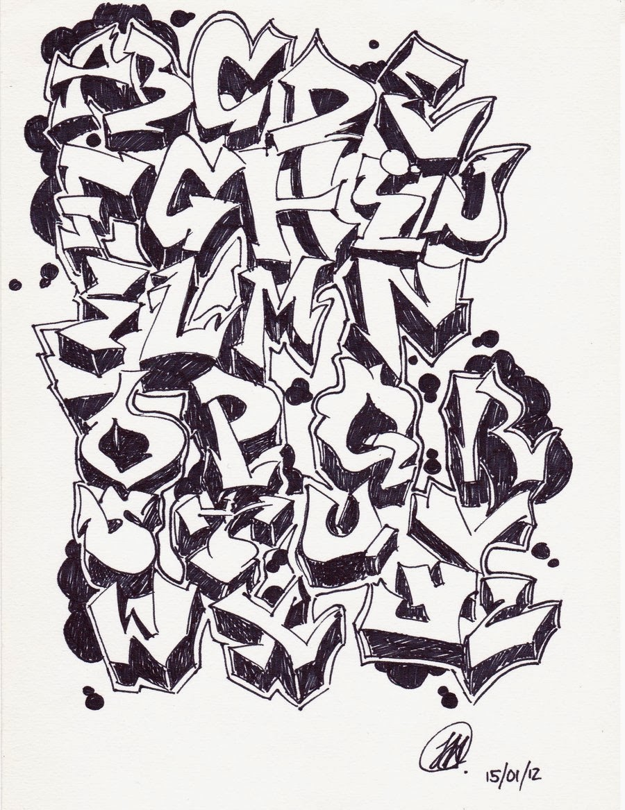 14+ Cool Graffiti Letters