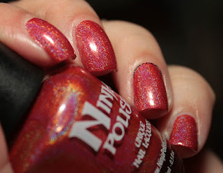 Ninja Polish Infinity Gems Power Swatches Review
