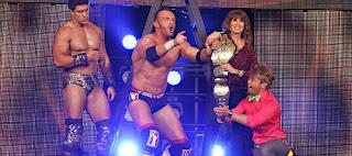 LUCHA LIBRE-Magnus nuevo campeón de la TNA