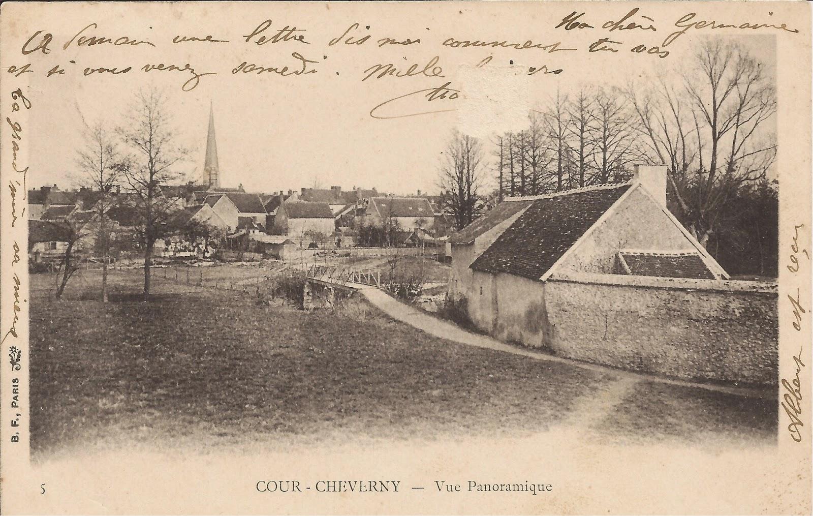 Abords du Conon - Cour-Cheverny