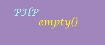 PHP Empty-PHP Tutorial in Hindi