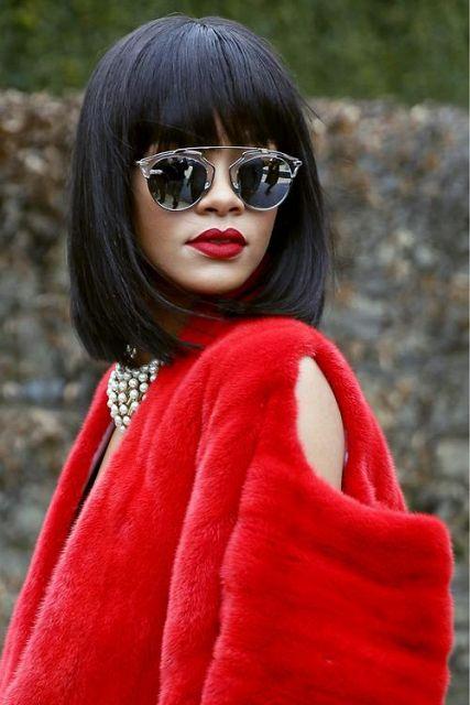 Rihanna's lips