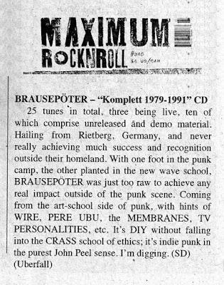 Brausepöter - Maximum Rock n Roll