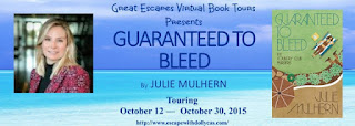 http://www.escapewithdollycas.com/great-escapes-virtual-book-tours/books-currently-on-tour/guaranteed-to-bleed-by-julie-mulhern/