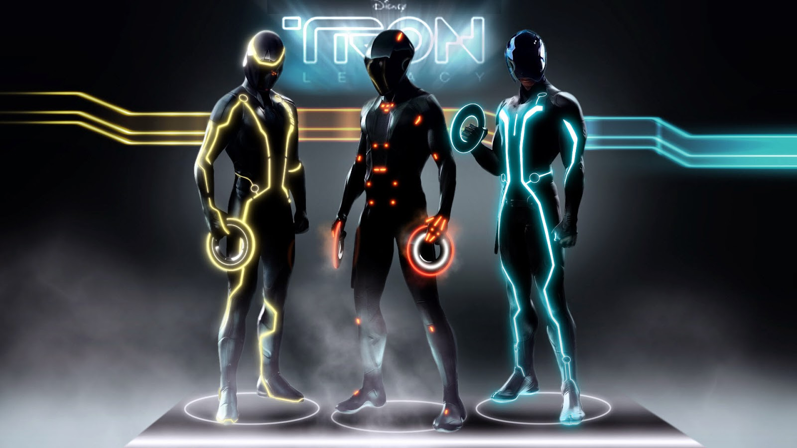 tron legacy characters HD