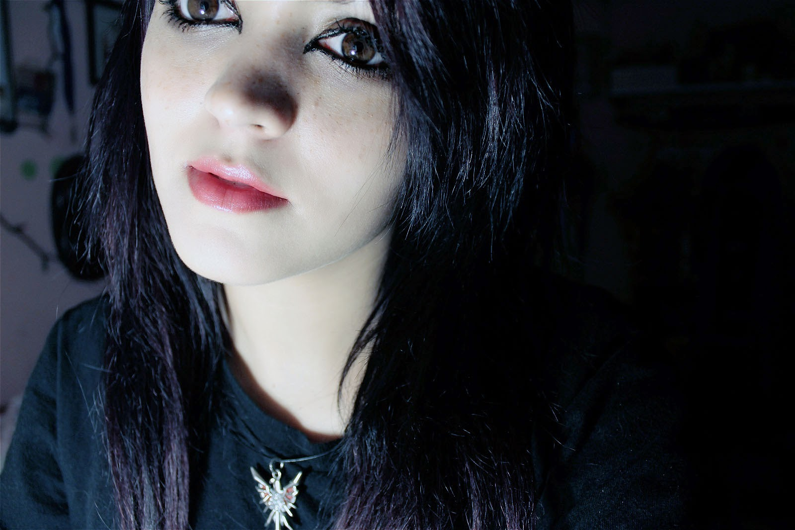 ... dark hair with blue tips dark brown hair with blue tint dark hair with
