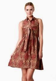 Design Baju Batik Dress