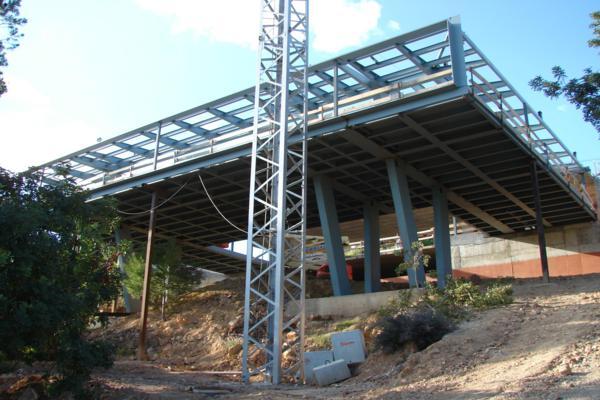 Commsal obras seleccionadas for Estructura arquitectura