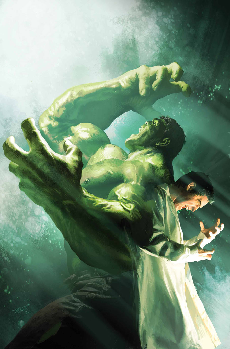 Comic Covers in The Incredible Hulk Incredible Hulk 7.1 Cover by