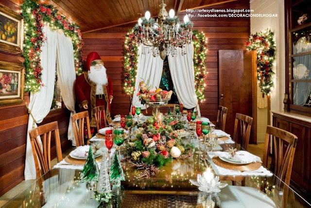 decorar la mesa del comedor para navidad dinning christmas decorations dining table by