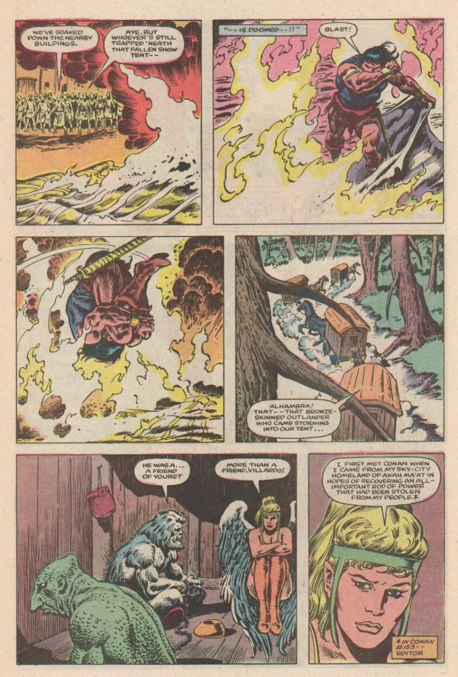 Conan the Barbarian (1970) Issue #168 #180 - English 10