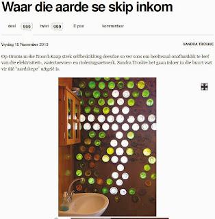 Artikel in Volksblad