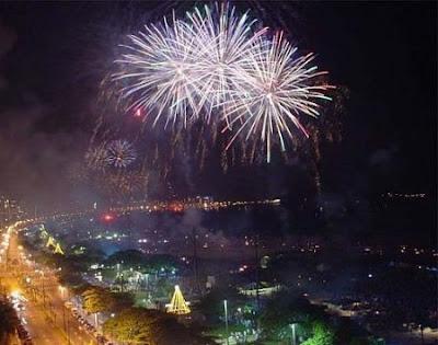 Ano novo / Virada do Ano em Santos 2014