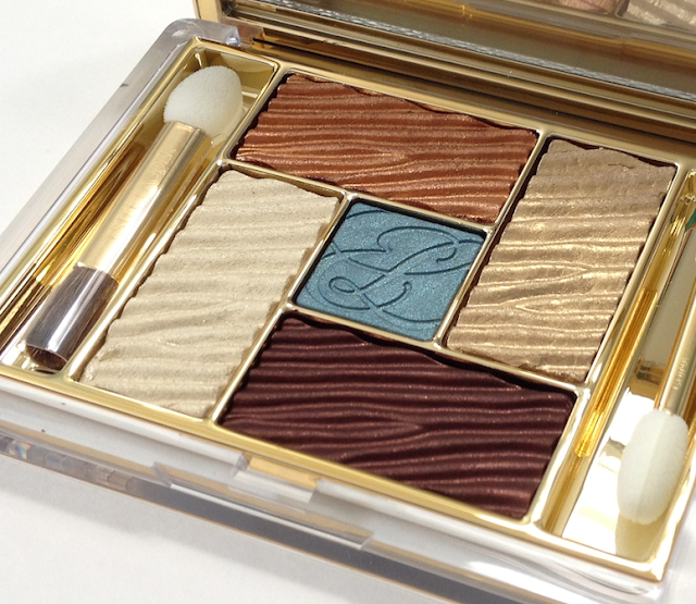 Estée Lauder Bronze Goddess Capri Summer 2012 Bronze Sands Pure Color Cyber Metallic Palette