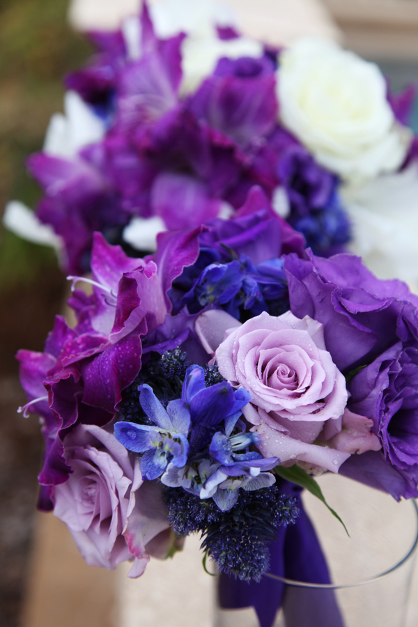 Kansas City Wedding In Royal Purple Amp Blue Keva Amp Jarret
